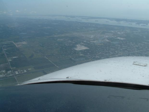 Fort Pierce from the air.